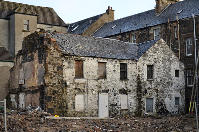 Demolition of Argyll Hotel - (2)