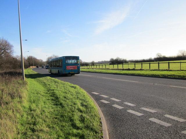 The A51 (Holme Street) near Stamford Bridge