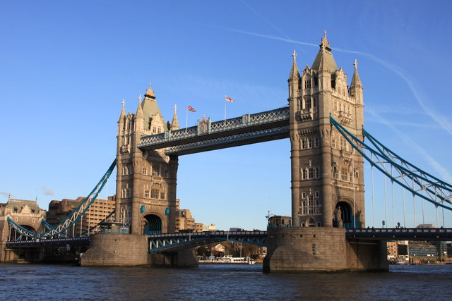 Tower Bridge on a sunny January afternoon