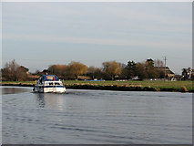 TL5369 : On the Cam near Upware by John Sutton