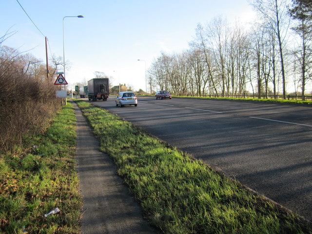 The A51 (Holme Street)