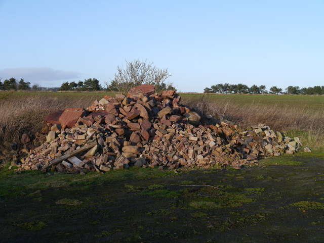 RAF Charterhall - A Pungent Pile Of Rubble