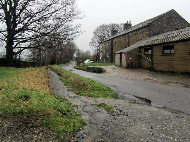 Brogden Lane beside Kirk Clough