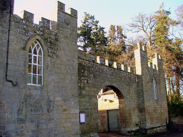 Entrance to Roddham Hall