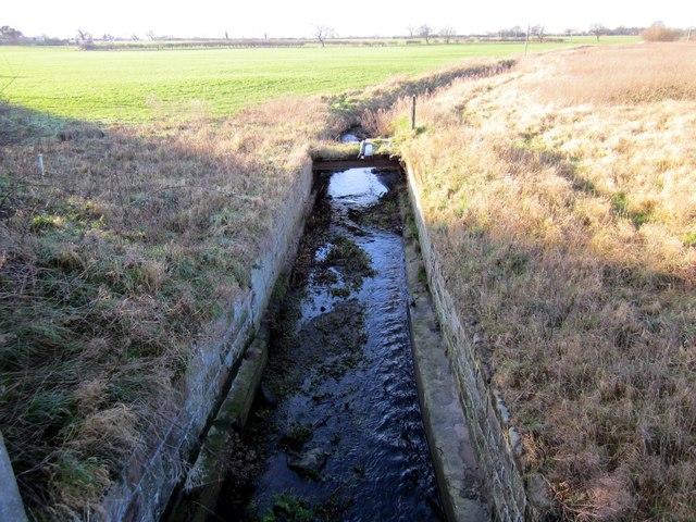 Stream under the Tarvin Bridge
