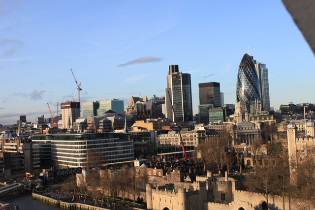 The City from Tower Bridge