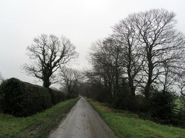 Coal Pit Lane on Talbot Hill