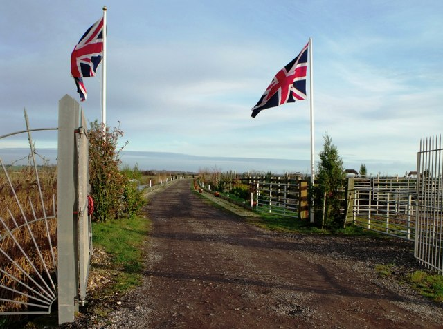 Access road to smallholding, Pevensey Levels