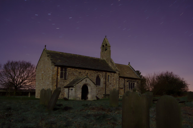 St Mary's Church by Moonlight