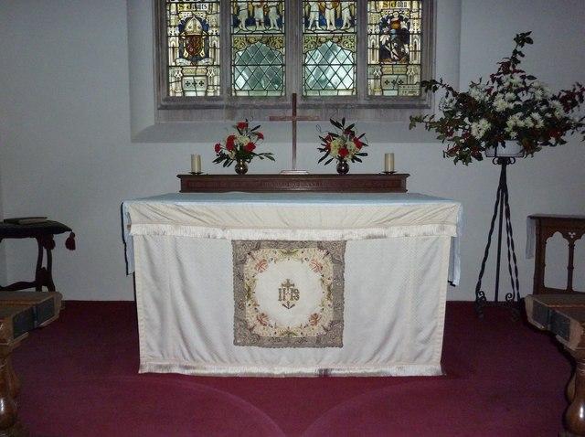 St James's, East Tisted- Christmas displays (i)