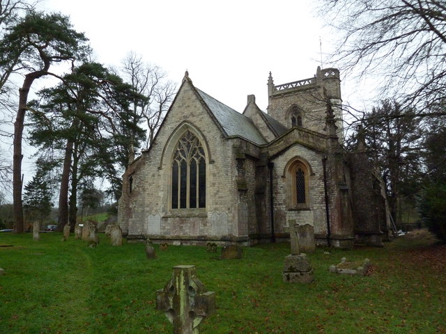 St James's, East Tisted- east end