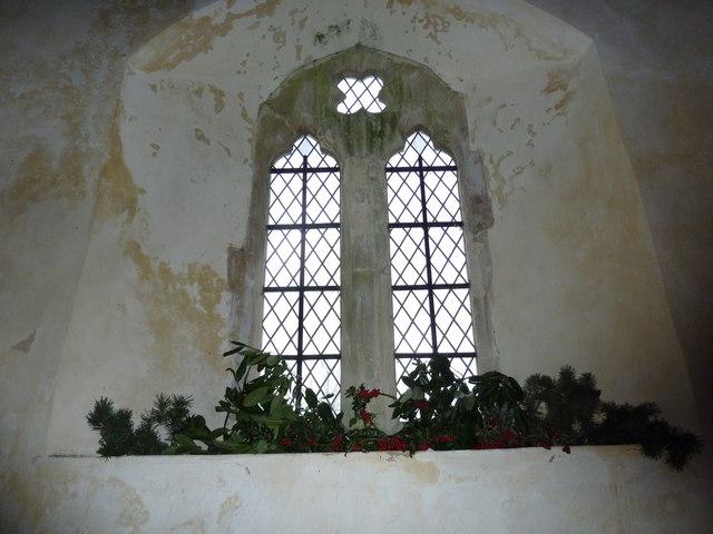Saint Peter ad Vincula, Colemore- Christmas decorations (ii)
