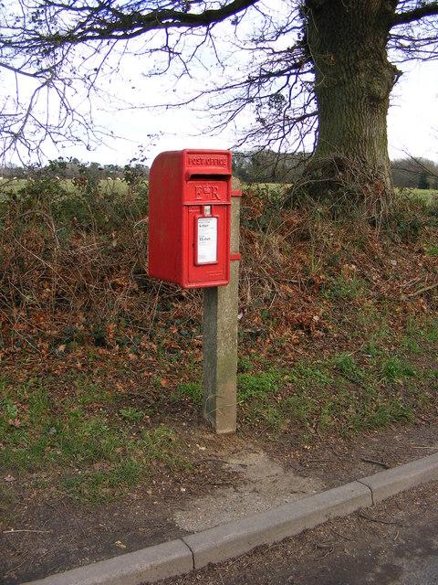 Rush Cottage Bent Lane Postbox