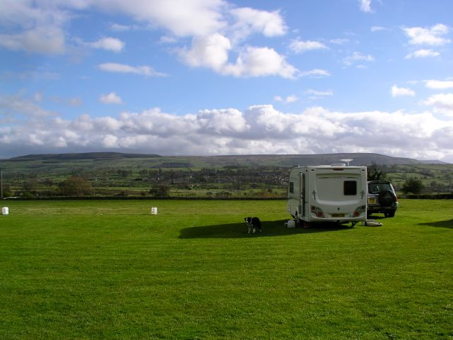 Harmby Caravan Club CL,  Leyburn