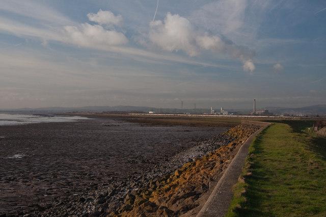 Coastal path - Uskmouth