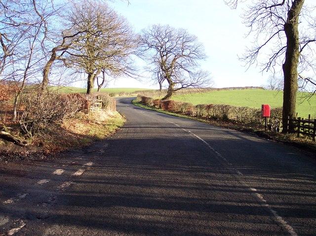 Plantation Lane joins Abbeystead Road