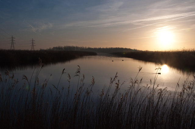 Newport Wetlands Reserve - Uskmouth