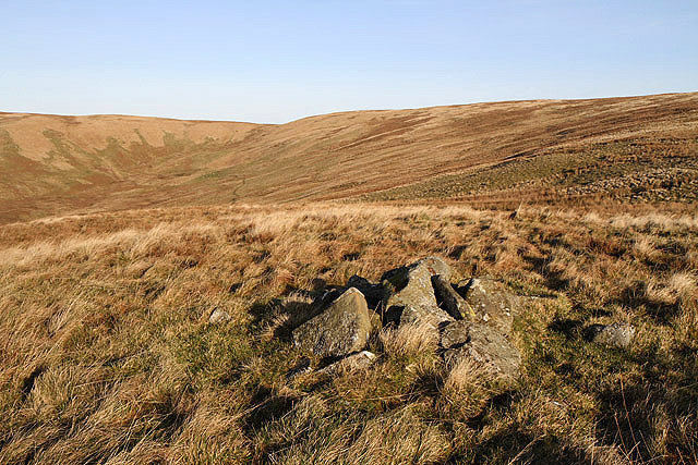The summit of Cowans Knowe