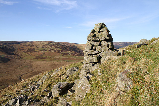 A cairn at Douglas Craig