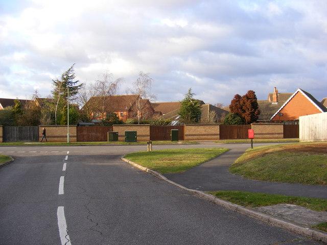 Forest Lane, Martlesham Heath & Forest Lane Postbox