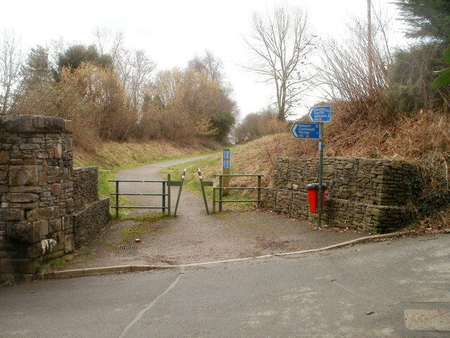 National Cycle Network Route 4, Machen