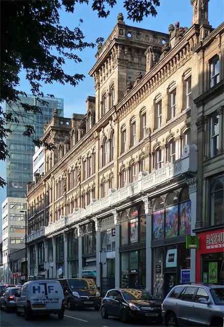 Barton's Buildings, Deansgate, Manchester