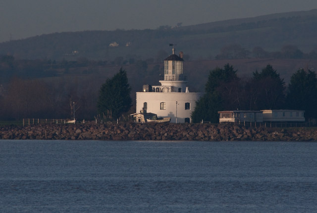West Usk Lighthouse - Uskmouth