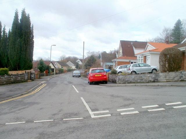 Dranllwyn Close, Machen