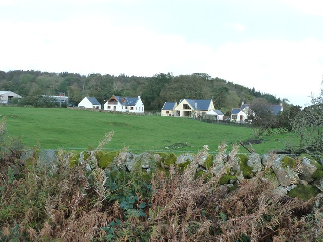 New houses at Auchenhill