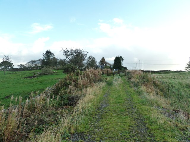 Looking towards the A710