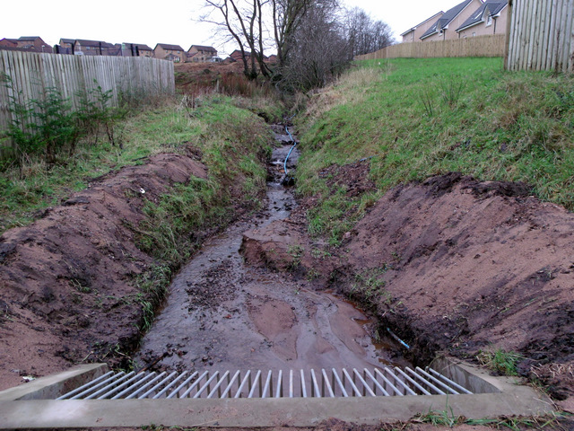 Drain at Inverkip
