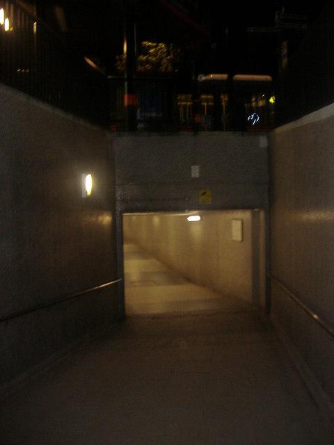 Subway entrance, Park Lane