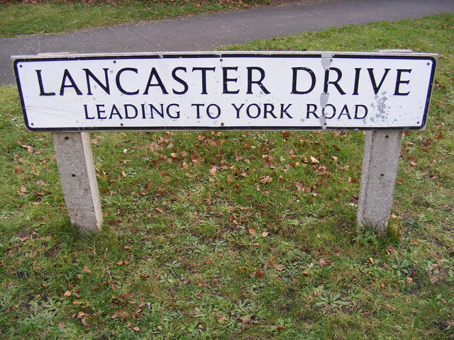 Lancaster Drive sign