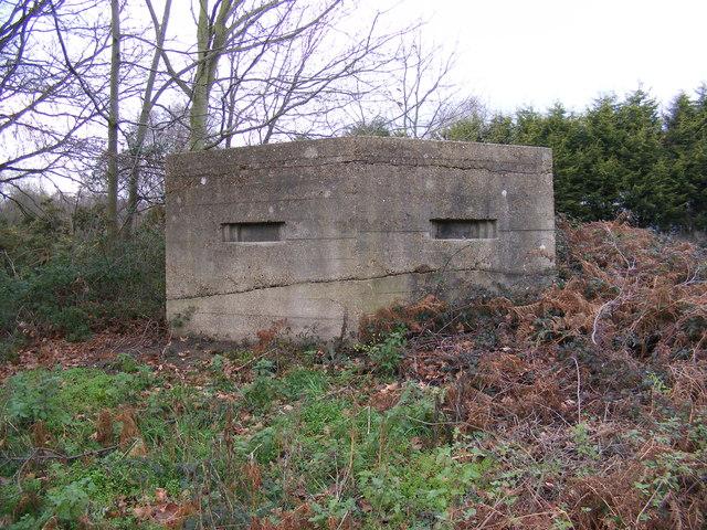 Pillbox on Eagle Way