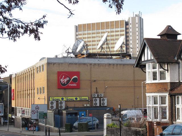 Virgin Media installation, Lewisham