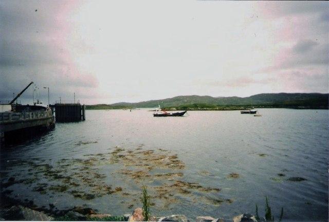 Pier at Lochboisdale