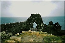 NG4074 : Duntulm Castle by Douglas Nelson