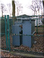TM2545 : Electricity Sub-Station at Falcon Caravans by Geographer