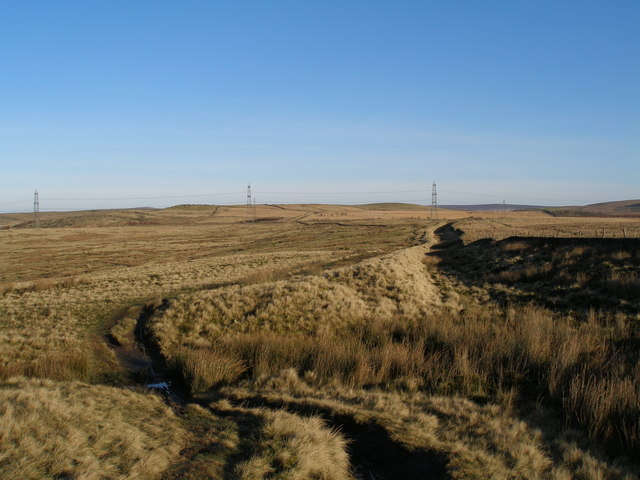 Rossendale Way east of Meadow Head
