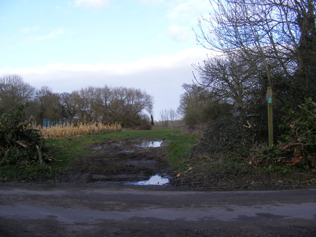 Footpath to the A12