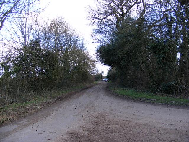 Looking towards Hinton Grange