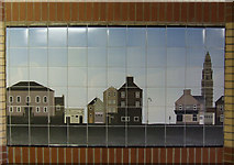 NS2776 : Ceramic tile mural by Thomas Nugent