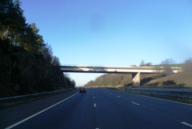 Denham Lane Crosses the M61