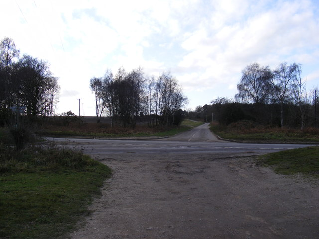 Looking towards Dunwich Road