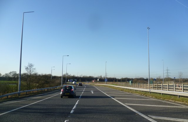 Approaching the end of the M65