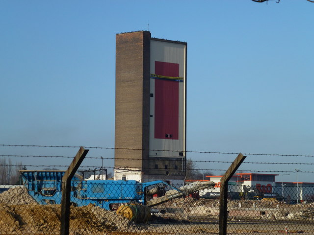 Campbell's Tower, King's Lynn - The day before demolition