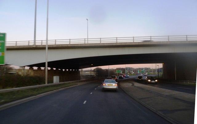 M6 Motorway Bridge at Junction 31