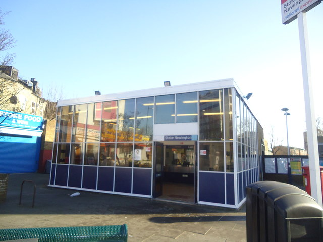 Stoke Newington railway station