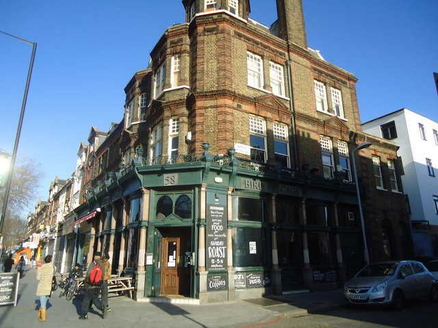 The Bird Cage public house, Stamford Hill