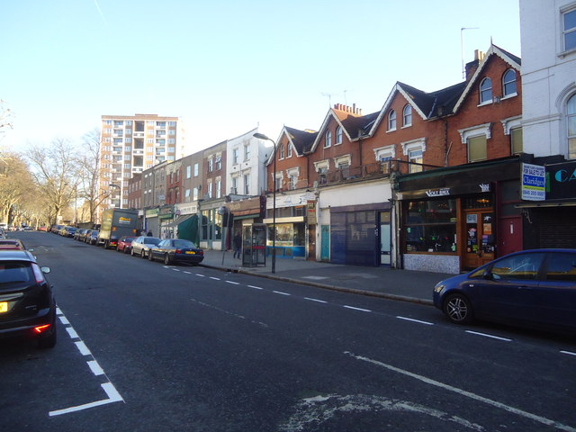 Shops, Cazenove Road, London N16
